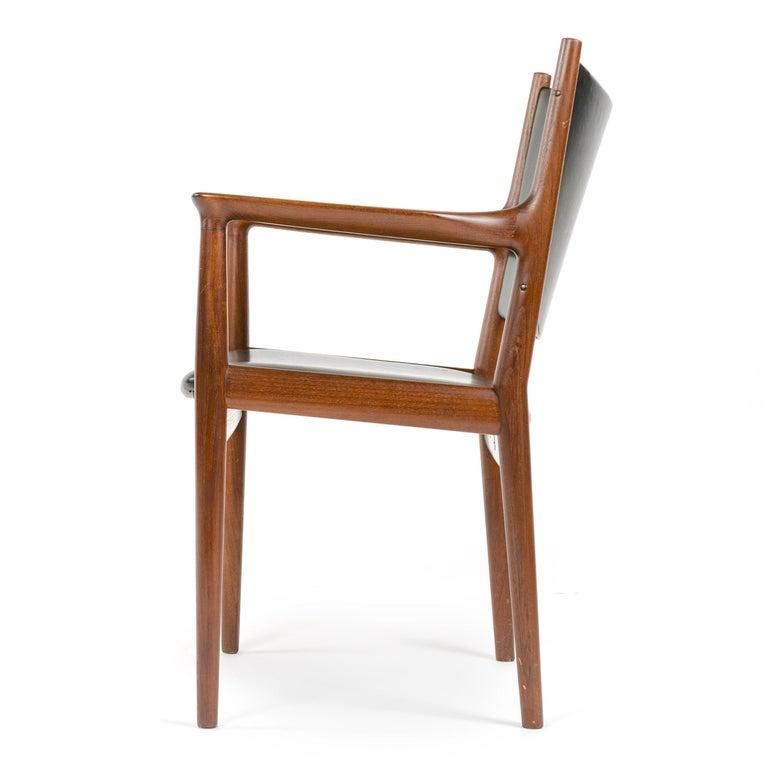 Mid-20th Century 1960s Danish Teak Dining Chair by Hans J. Wegner for Johannes Hansen For Sale