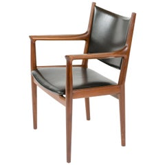 1960s Danish Teak Dining Chair by Hans J. Wegner for Johannes Hansen