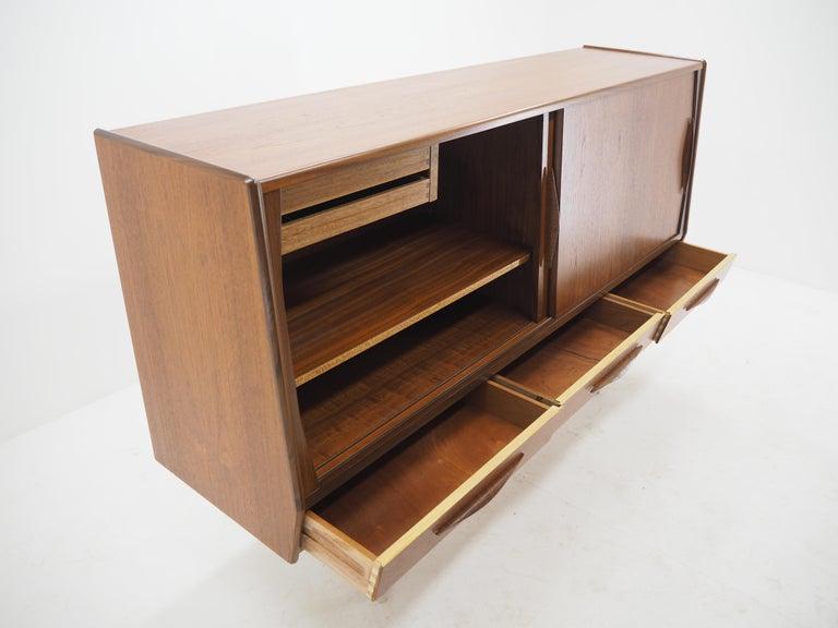 1960s Danish Teak Highboard For Sale 3