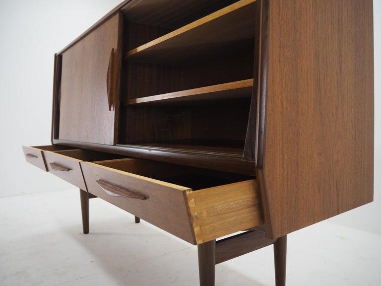 1960s Danish Teak Highboard For Sale 9