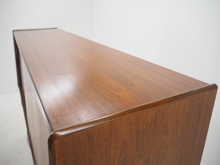 European 1960s Danish Teak Highboard For Sale