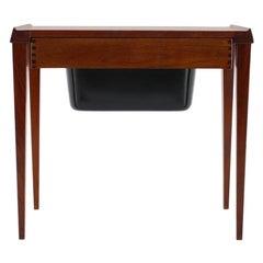 1960s Danish Teak Sewing Table