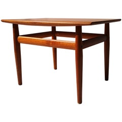 1960s Danish Teak Side or End or Coffee Table by Grete Jalk