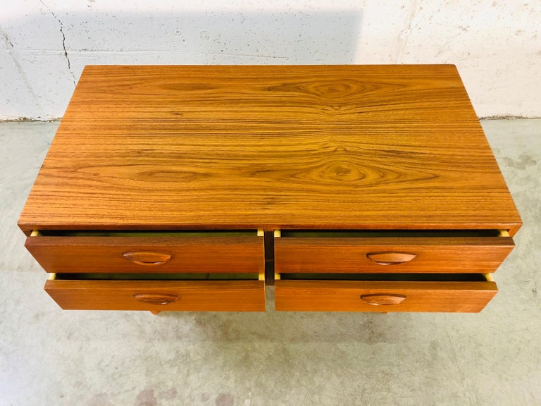 1960s Danish Teak Storage Cabinet For Sale 1