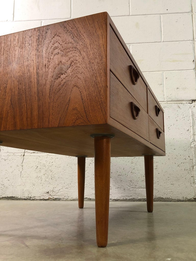 1960s Danish Teak Storage Cabinet For Sale 2