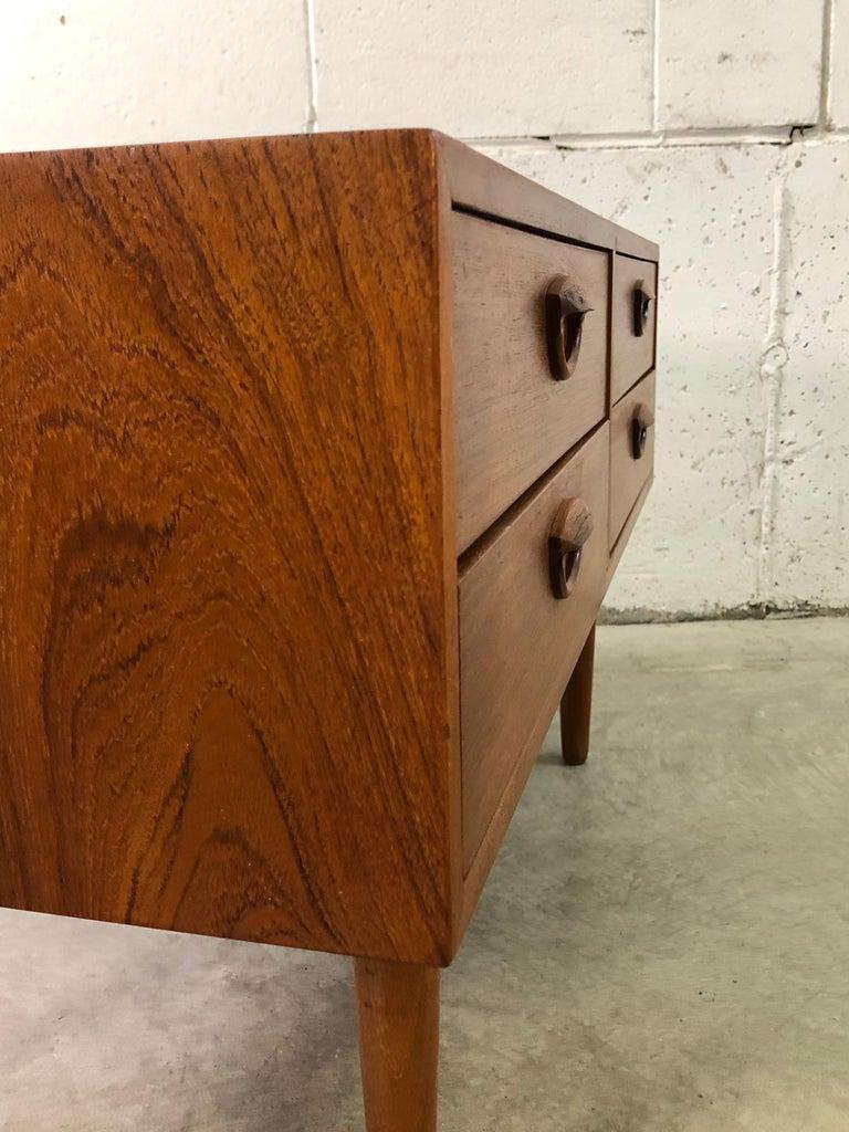 1960s Danish Teak Storage Cabinet For Sale 3