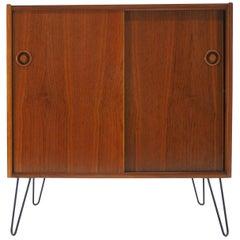 1960s Danish Teak Upcycled Cabinet