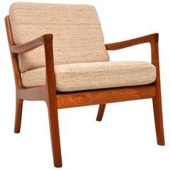 1960s Danish Teak Vintage Armchair