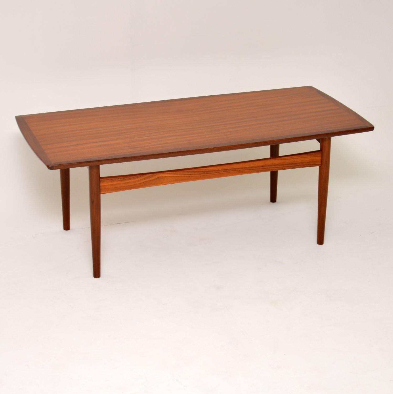 Picture of: 1960s Danish Teak Vintage Coffee Table At 1stdibs