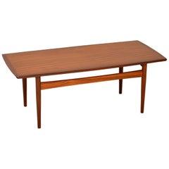 1960s Danish Teak Vintage Coffee Table