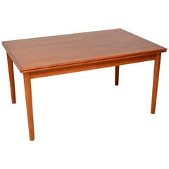1960s Danish Teak Vintage Dining Table