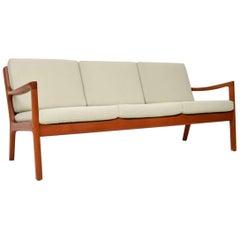 1960s Danish Teak Vintage Senator Sofa by Ole Wanscher