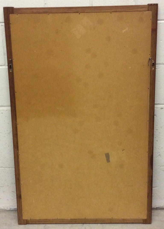 1960s Danish Teak Wall Mirror For Sale 3