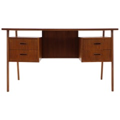 1960s Danish Teak Writing Desk
