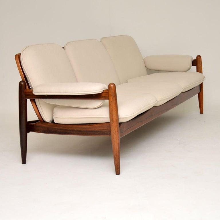 1960s Danish Vintage Midcentury Sofa