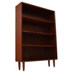 1960s Danish Vintage Open Bookcase
