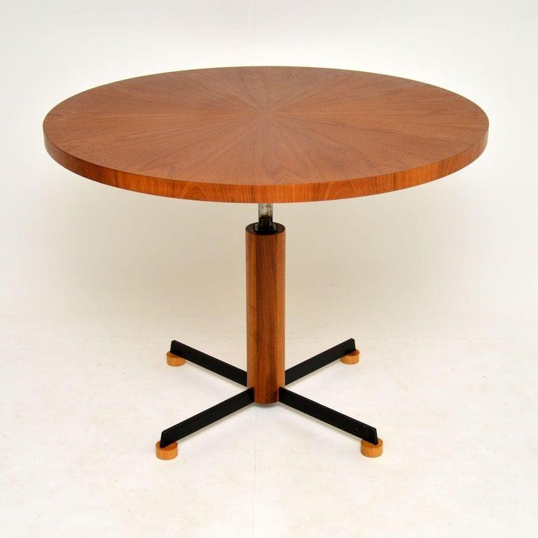 20th Century 1960s Danish Vintage Teak Dining / Kitchen Table