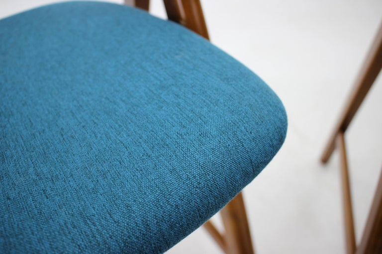 Set of 1960s Dining Chairs by Henning Kjaernulf for Boltinge Støle Møbelfabrik For Sale 2