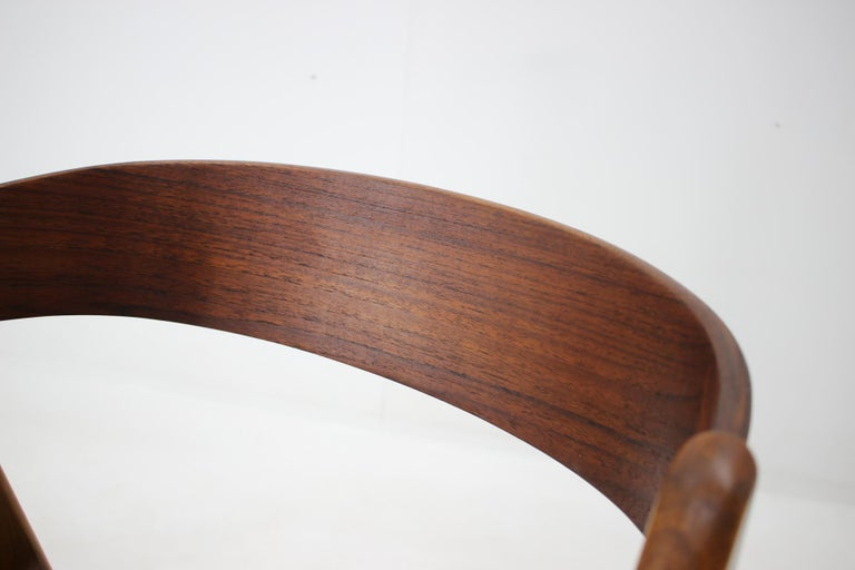 Set of 1960s Dining Chairs by Henning Kjaernulf for Boltinge Støle Møbelfabrik For Sale 1
