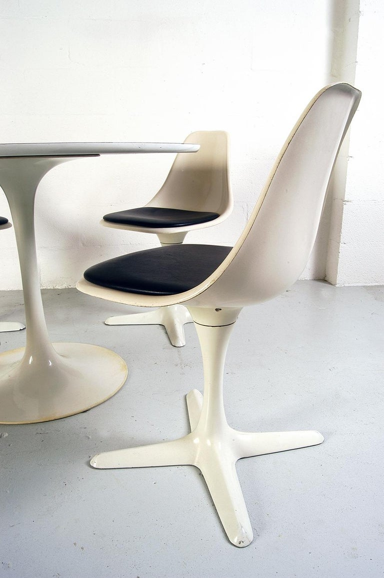 1960s Dining Room Suite by Maurice Burke for Arkana Bath England Midcentury For Sale 1
