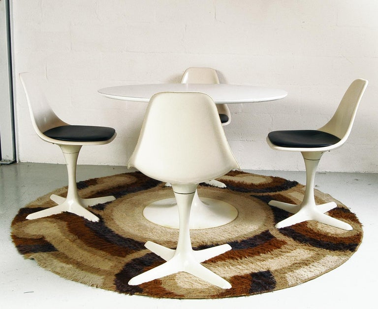 Space Age 1960s Dining Room Suite by Maurice Burke for Arkana Bath England Midcentury For Sale