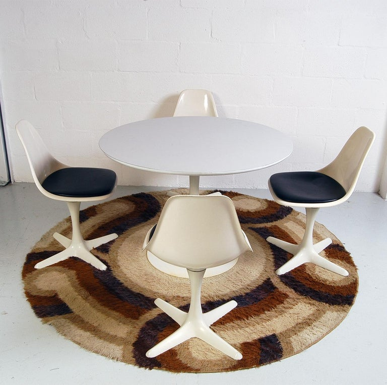 English 1960s Dining Room Suite by Maurice Burke for Arkana Bath England Midcentury For Sale
