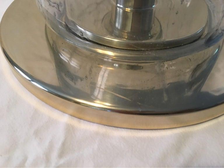 Aluminum 1960s Dora Leuchten Flush Mount or Sconce For Sale