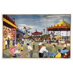 1960s Double-Sided School Poster, The Fair and Farmers Market by Oge-Hachette