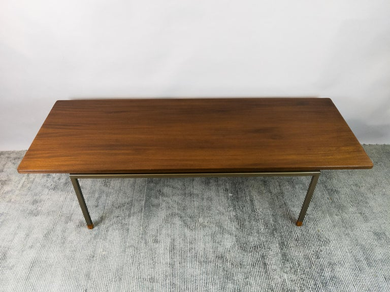 1960s Dutch Rob Parry Gelderland Minimalist Sofa & 2 Armchairs inc. Coffee Table For Sale 9