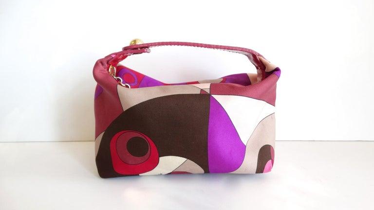 1960s Emilio Pucci Mini Bag  For Sale 7