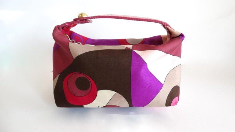 Pink 1960s Emilio Pucci Mini Bag  For Sale