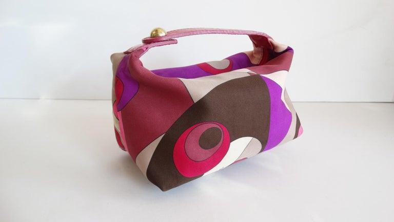 Women's or Men's 1960s Emilio Pucci Mini Bag  For Sale