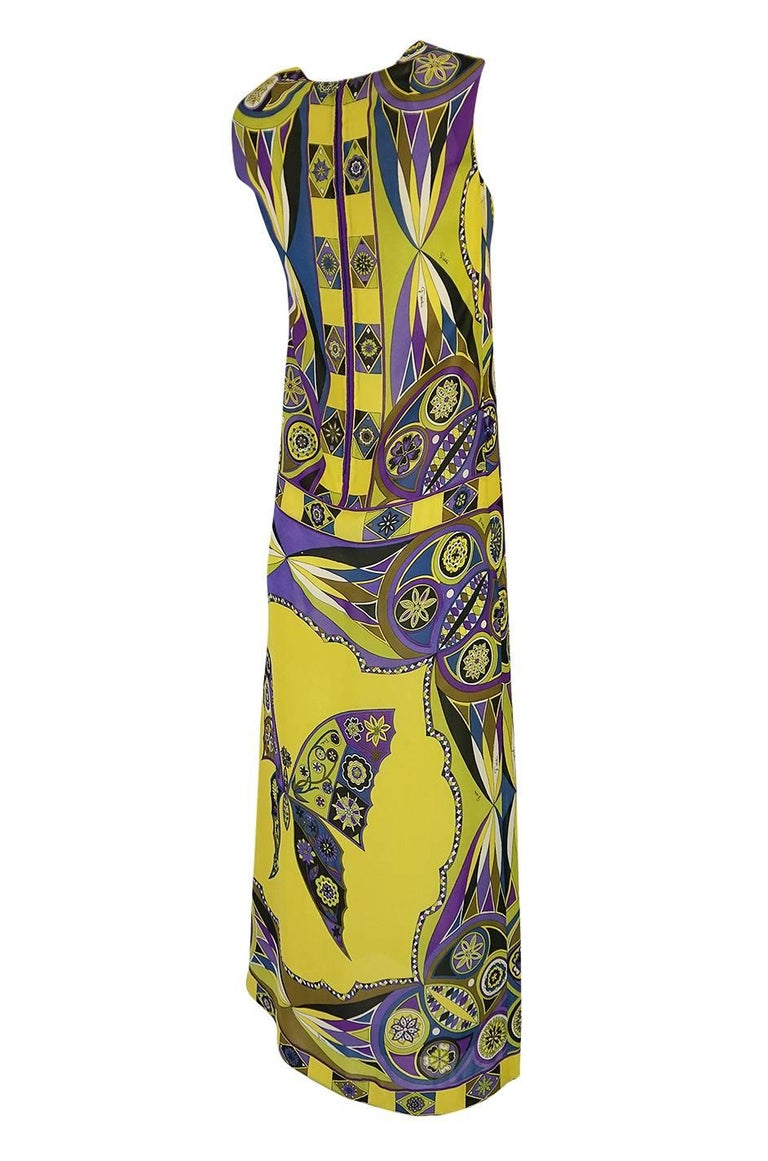 The Pucci butterfly print is one of my favorites. He designed and drew all of these early designs and this one in particular feels like you are wearing a piece of art. The combination of print and color is wonderful and instantly recognizable as