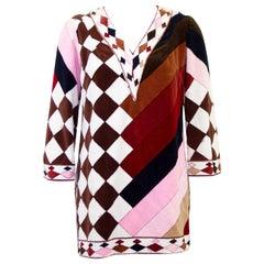 1960s Emilio Pucci Terry Velvet Tunic