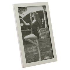 1960s English Sterling Silver Photograph Frame