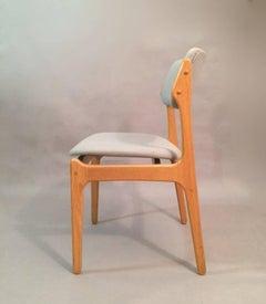 1960s Erik Buch Model 49 Oak Dining Chair