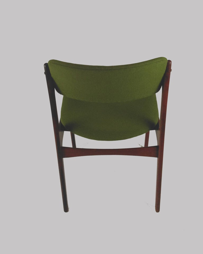 1960s Erik Buch Set of Eight Model 49 Rosewood Dining Chairs For Sale 1