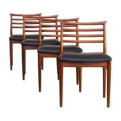 1960s Erling Torvits Dining Chair for Sorø Stolefabrik Set of 4