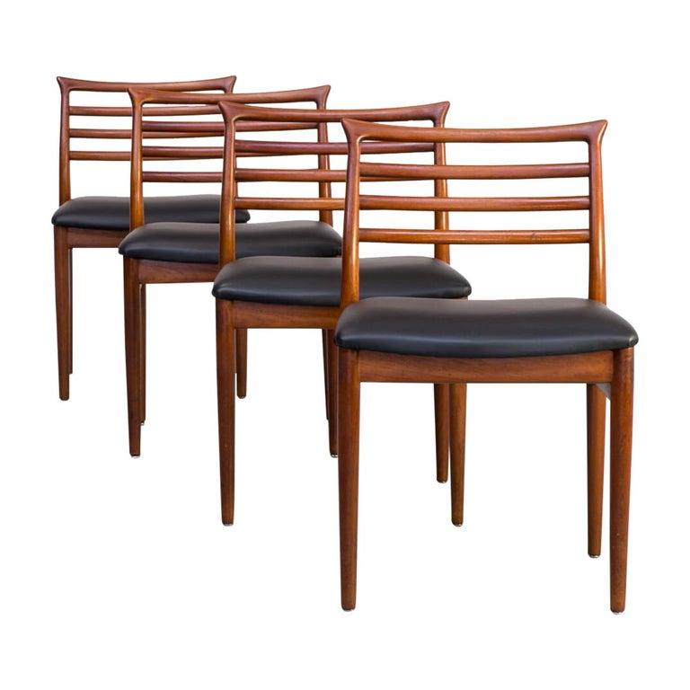 1960s Erling Torvits Dining Chair for Sorø Stolefabrik Set of 4