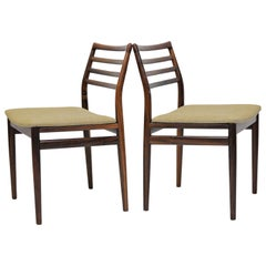 1960s Erling Torvits Refinished Rosewood Dining Chairs by Soro Mobelfabrik