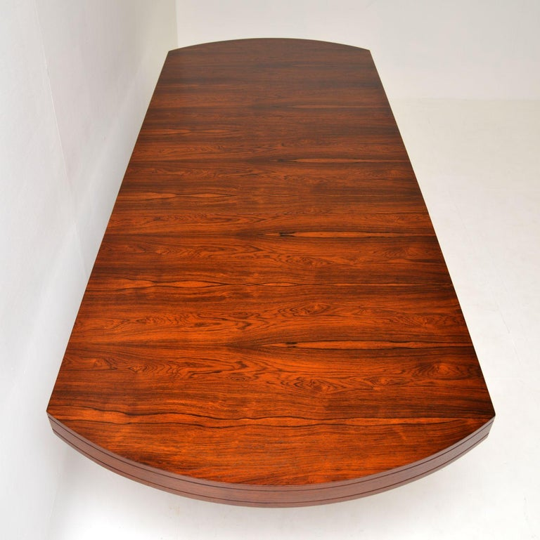 Mid-Century Modern 1960s Extending Dining Table by Robert Heritage For Sale