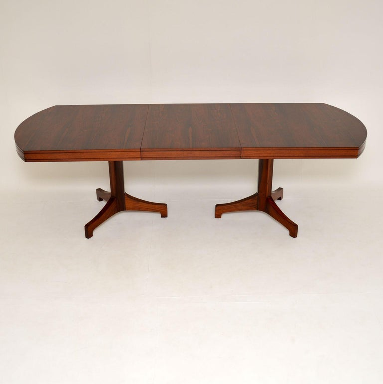 British 1960s Extending Dining Table by Robert Heritage For Sale