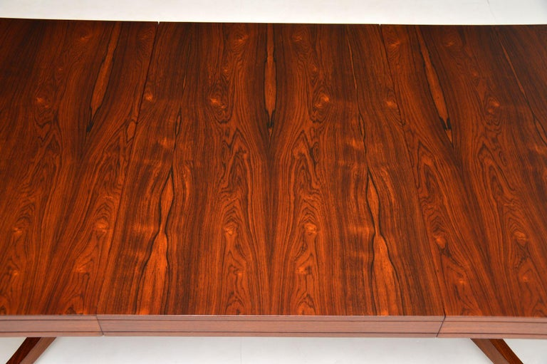 Wood 1960s Extending Dining Table by Robert Heritage For Sale