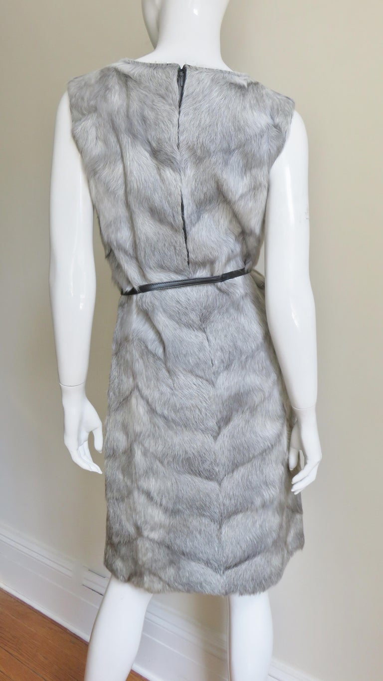 1960s Mr G Fur Dress and Jacket For Sale 9