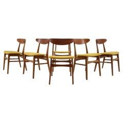 1960s Farstrup Teak Dining Chairs, Set of 6