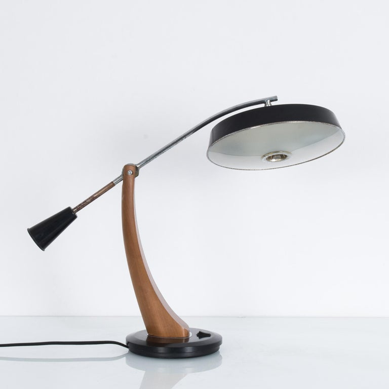 Mid-Century Modern 1960s Fase President Pendulum Desk Lamp For Sale