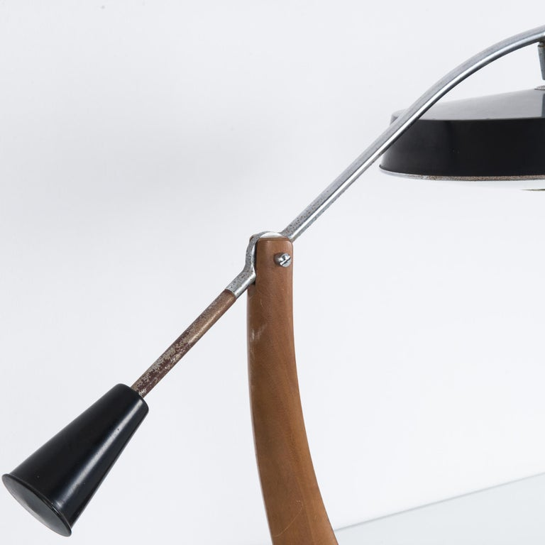 Mid-20th Century 1960s Fase President Pendulum Desk Lamp For Sale