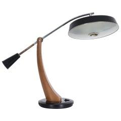 1960s Fase President Pendulum Desk Lamp