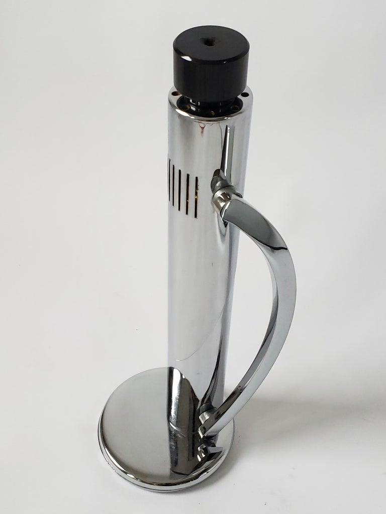 1960s Fase 'Tharsis' Chrome Table Lamp, Spain For Sale 10