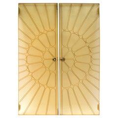1960s Fiberglass Double Doors